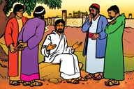 Picture 93. Jesus Teaches about the End Times