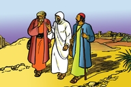 Picture 113. Jesus on the Road to Emmaus