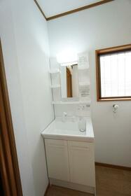 榎本テラスハウスの洗面所
