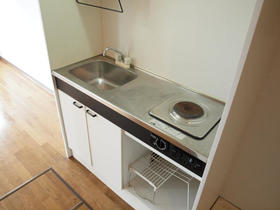 ジョイハウス深沢 202号室のキッチン
