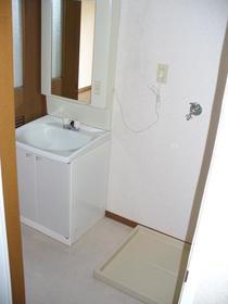 第2細井ハイツ 101号室の洗面所