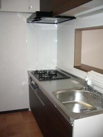 コートガーディニア 103号室のキッチン