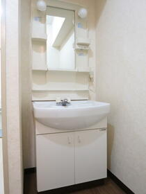 ローズハイツ 102号室の洗面所