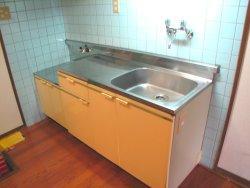 サンコーポ和白丘 302号室のキッチン