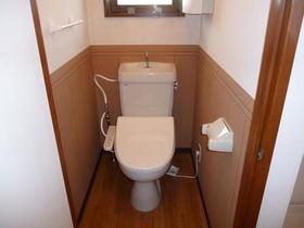第7アオイビル 206号室のトイレ
