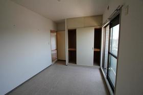 ベルメゾン 404号室のベッドルーム