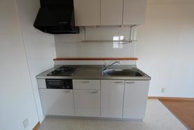 ベルメゾン 404号室のキッチン