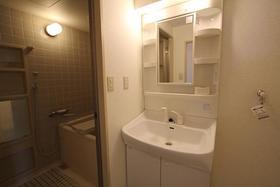 ベルメゾン 404号室の洗面所
