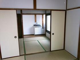 日吉荘 205号室のキッチン