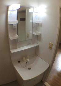 ロワールウエスト.1 201号室の洗面所