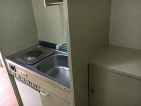 第16紀州ハイツ 201号室のキッチン