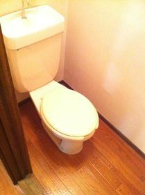 ボナール青葉 202号室のトイレ