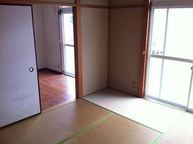 ボナール青葉 202号室のバルコニー