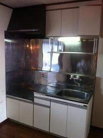 ボナール青葉 202号室のキッチン