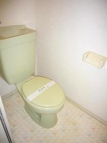 リバーサイド谷頭Ⅱ 202号室のトイレ