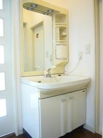 リバーサイド谷頭Ⅱ 202号室の洗面所