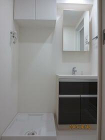 プレミアムコート都立大学 804号室の洗面所