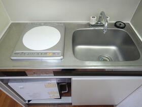 ブランシェ百合ヶ丘 205号室のキッチン