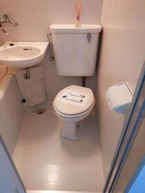 ブランシェ百合ヶ丘 205号室の風呂
