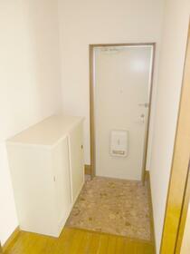 コーポ秋山2 202号室の玄関