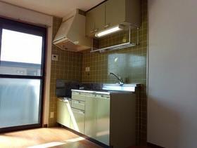 シャルム寿美 202号室のキッチン