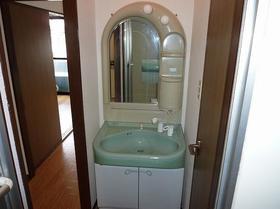 シャルム寿美 202号室の洗面所