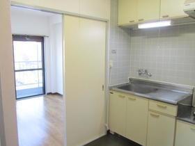 アルカディア 202号室のキッチン