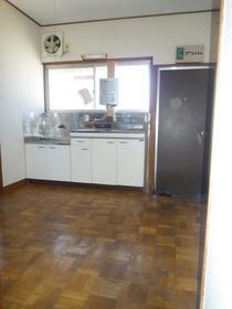 あずまコーポ 201号室のキッチン
