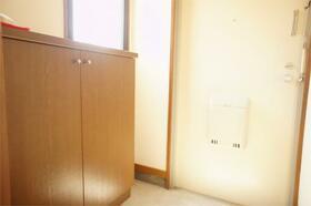 田中ビル 301号室の玄関