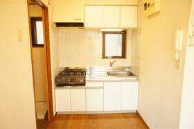 田中ビル 301号室のキッチン