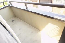 田中ビル 301号室のバルコニー