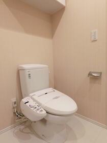パークハビオ駒沢大学 801号室のトイレ