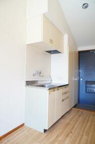 吉川サンパレス 410号室のキッチン