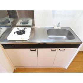 くるみハウス 0101号室のキッチン
