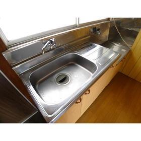 福島荘 202号室のキッチン