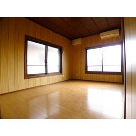 福島荘 202号室のリビング