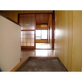 福島荘 202号室の玄関
