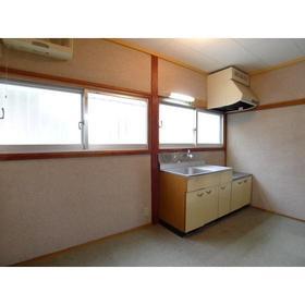 藤田荘 1号室のキッチン