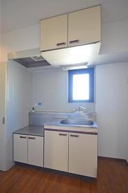 スカイライフ若宮 405号室のキッチン