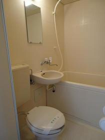 希望荘 103号室の風呂