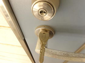 サンスフラット C号室のセキュリティ