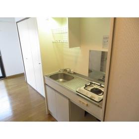 フローラルヒモンヤ 0201号室のキッチン