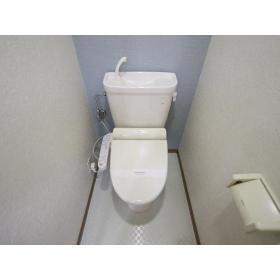フェアリーハウス 201号室のトイレ
