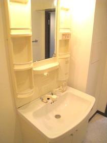 クレセール菜の花 402号室の洗面所