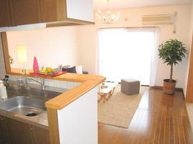 クレセール菜の花 402号室のキッチン