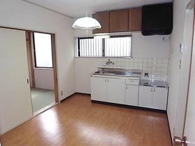 グリーンハウスタガヤA 201号室のキッチン