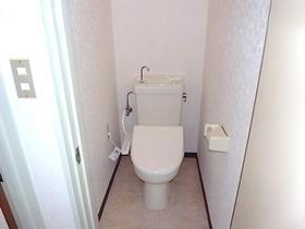 グリーンハウスタガヤA 201号室のトイレ