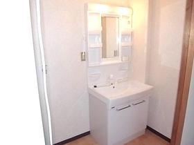 グリーンハウスタガヤA 201号室の洗面所