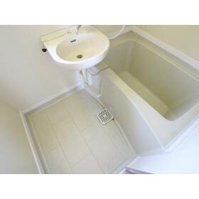 光ハイツ(上和田) 201号室の風呂