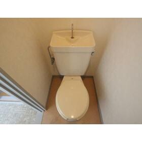 光ハイツ(上和田) 201号室のトイレ